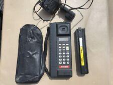 Vintage Mitsubishi Roamer Mobile Phone MT397 grey, 2 batteries, case & charger