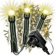 500 LED Büschellichterkette Cluster warm weiß Trafo Timer Lichterkette Xmas-Deko