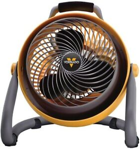 Shop Fan 10.75 in. Heavy-Duty High-Velocity Whole Room with Slip-Resistant Feet