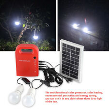 Portable Home Outdoor Solar Panels Charging Generator Power Generation Energy LJ