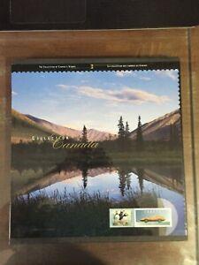 CANADA 1996 HARDBOUND YEAR SET FV $34