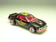 Hot Wheels Thunderburner, Black #4, Chrome uh Wheels, Loose