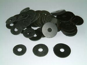 M6 Rubber Washers 1.5mm Thk- 3 different sizes and various quantities