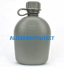 NEW, US MILITARY 1 QUART HARD PLASTIC CANTEEN, Foliage Green