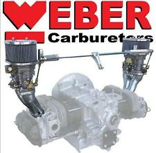 Dual Weber 40 IDF Carburetor Kit, Dual Port Type 1 Engines in VW Bug, Bus, Ghia