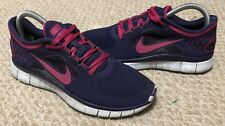 Nike Free Run 3 women's size 7.5 sneakers shoes purple pink 510643-401 running