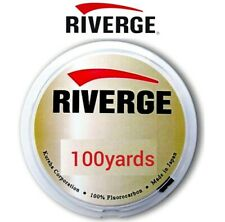 Riverge Fluorocarbon 100 Yards Leader Line Grand Max Fly Fishing Tippet Seaguar