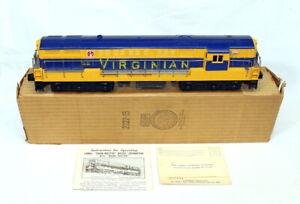 Postwar Lionel 2322 Virginian F-M Trainmaster Diesel~Mint Unrun~w/Nice OB & Inst