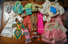 Vintage 1960's Barbie Dolls Clothing lot of 21 + Other Doll Clothing