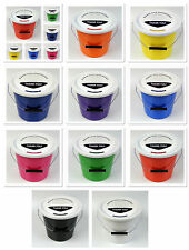 Pack of 10 New Charity Street Collecting Buckets Fundraising Donation 10 Colours
