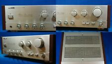 PIONEER REFERENCE AMPLIFIER IN SILVER RARE PLUS WOODEN SIDES