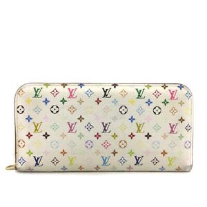 Louis Vuitton Monogram Multicolor Portefeiulle Ansoritto Long Wallet /?E0526