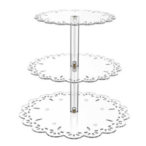 US Cupcake Stand 3 Tier Wedding Birthday Party Cake Muffin Holder Display Tower