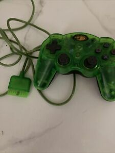 Mad Cats SEE-THROUGH CLEAR Wired Controller For PS2 With Wire