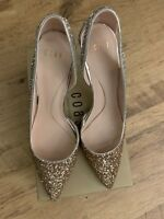 USED BUT GOOD UK 6.5 US 9 9 US COAST LADIES HIGH HEEL Schuhe IN GLAM BOX e297aa