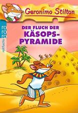 Der Fluch der Käsops-Pyramide von Geronimo Stilton (Taschenbuch) UNGEELSEN