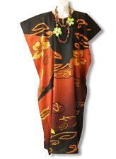 Floral Plus Size Caftan Kaftan Tunic Hippy Abaya Maxi Dress - M, L, XL & 1X