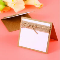 10X/Set Wedding Table Place Cards Guest Name Party Stand Invitation Card Popular