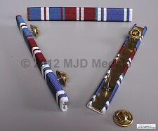 More details for golden jubilee + diamond jubilee medal + police long service medal ribbon bar