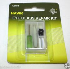 POCKET SIZE EYE GLASS REPAIR TRAVEL KIT SCREWDRIVER TWEEZER NOSE PADS SCREWS