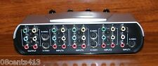 Audio Componet Composite Video 4-Input S-Video Selector Switch (PH61148)