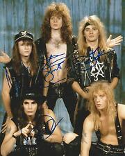 **GFA American Rock Hair Band *WARRANT* Signed 8x10 Photo PROOF AD1 COA**