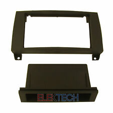 Mercedes SLK Series Radio Dash Install Mount Kit Single Din Pocket Black New