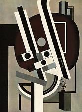Leger 02 Composizione  Poster 70x100 Stampa Papi Arte Moderna