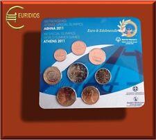 Griechenland KMS 2011 BU ( 1 Cent bis 2 Euro STIER ), RARITÄT