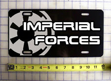 IMPERIAL FORCES (STAR WARS) CUSTOM LICENSE PLATE / CAR TAG