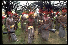 381068 Minj Sing sing Group With Kundu Drums New Guinea A4 Photo Print