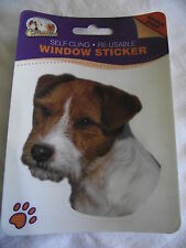 Sticker repositionnable - chien  JACK RUSSEL