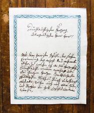 1810 Autograph Brief an den Herzog in Bayern Handschriftlicher Brief Koppler