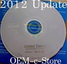 2012 Update 2007 2008 2009 2010 2011 2012 Honda Ridgeline Navigation OEM DVD Map