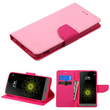 FOR LG G3 SMARTPHONE PINK Pattern pink Liner CARD WALLET ACCESSORY COVER CASE
