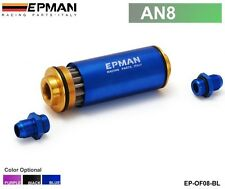 Epman Racing Ready Inline Fuel Filter AN8 with 100 Micron Element