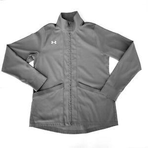 Under Armour Womens Jacket Medium Pre-Game Lightweight Woven Loose 1258832 A3-5