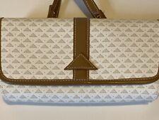 True Vintage Liz Clairborne Trifold Wallet Crossbody Triangle Shoulder Bag Purse
