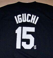 WHITE SOX / IGUCHI 15 / CHICAGO ILLINOIS USA BASEBALL MLB / BLACK T-SHIRT 2XL