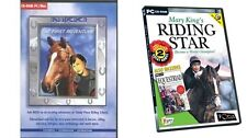 nikki the first adventure & mary kings riding star + equestriad   new&sealed