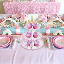 Cupcake Stand 3 Tier Cup Cake Display Kid Birthdy Unicorn Party Cake Party Decor