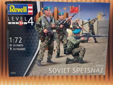 Revell Modellbausatz Soviet Spetsnaz 1980s Level 4, Maßstab 1:72, Nr.: 02533
