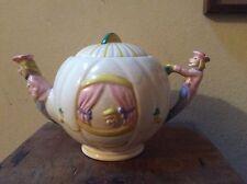 ART Deco weetman Pottery Cenerentola Ware Teiera 1950s WALT DISNEY Zucca