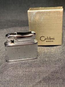 Vintage Colibri Monopol Chromed Pocket Lighter In Untouched Condition