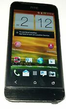 HTC One V 4GB Black Virgin Mobile Smartphone Bad WiFi