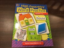 High Frequency Word Practice by Ruth Foster (2004, Paperback, New Edition)