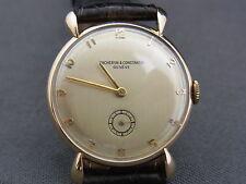 schöne Armbanduhr Vacheron & Constantin Geneve 14K Roségold 30er Jahre