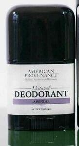 NEW American Provenance Travel Natural Deodorant Lavender Essential Oils 0.5oz