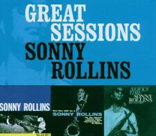 GREAT SESSIONS SONNY ROLLINS CD 2006 NEW SEALED BOXSET 3CD