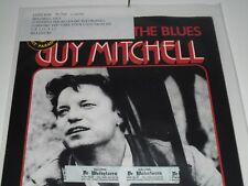 "Guy Mitchell Singing The Blues 7"" Vinyl Single Made In Belgium London 79.744"